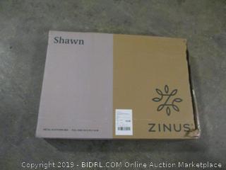 """Zinus Shawn full size metal platform bed smartbase 14"""" bed frame"""
