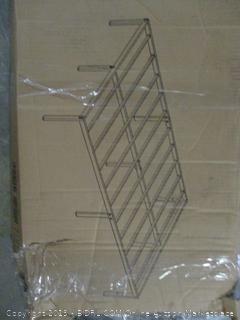 """14"""" metal queen size platform bed with steel slats"""