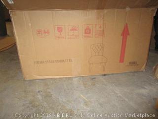 2 pc teal furniture item