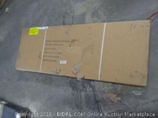 black headboard furniture item