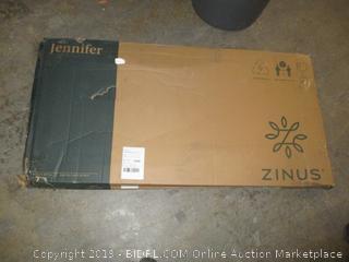 Zinus jennifer wood & metal soho dining table