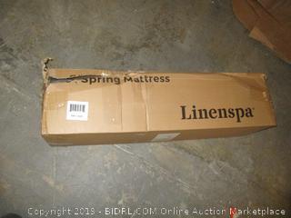 "linenspa 6"" spring mattress"