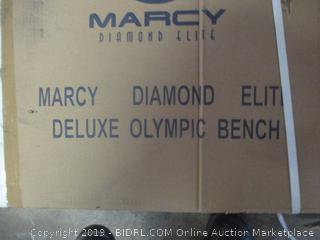 Marcy Diamond Elite deluxe olympic bench