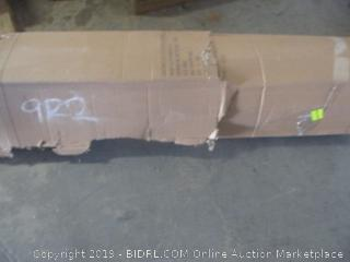 """Classic brands cool gel 12"""" gel memory foam mattress - king size"""