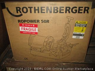 Rothenberger Ropower 50R item - factory sealed, box damage