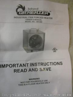 Dr. Heater industrial fan forced heater