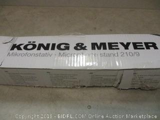 Konig & Meyer microphone stand