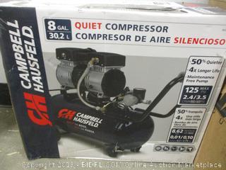 Campbell Hausfeld quiet compressor