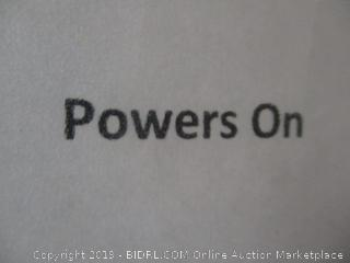 "15.6"" WiFi digital photo frame -- powers on"
