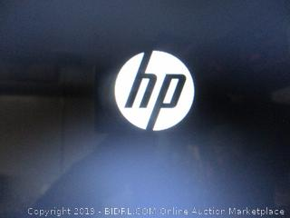 HP laptop computer - powers on