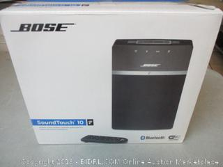 Bose SoundTouch 10 speaker item - powers on