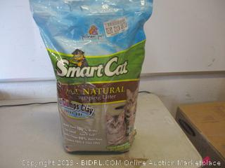 SmartCat all natural clumping litter -- open bag