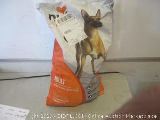 grain-free adult turkey & sweet potato recipe dog food - open bag