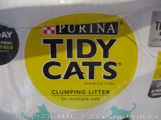 Purina tidy cats clumping litter