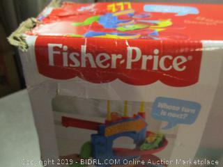 Fisher-Price LittlePeople skyway toy -- slight damage