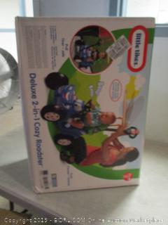 Little Tikes deluxe 2 in 1 cozy roadster children's toy