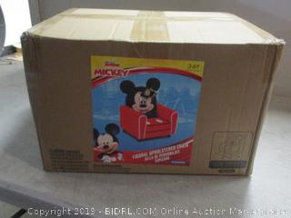 Mickey Mouse Clubhouse children's upholstered chair