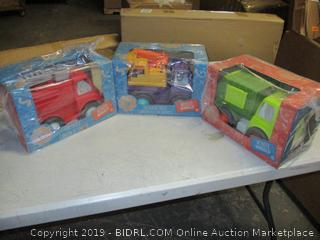 Wonder Wheels truck toys