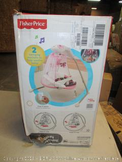 Fisher-Price butterfly cradle n swing