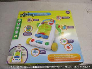 Jr. Explorers 2 in 1 activity walker