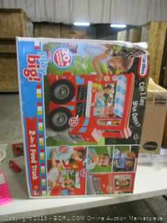 Little Tikes play big! 2 in 1 food truck toy