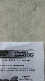 """Jeep flare Kit for 97-06 Tj 7"""""""