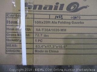 10x20 Folding Gazebo