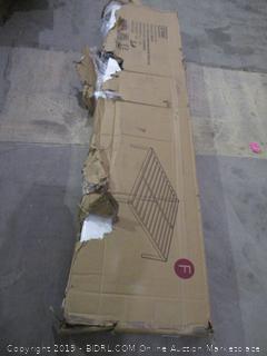 18 Inch Dura Metal Steel Slat Bed Frame, Full