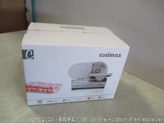 Cusimax Food Slicer New, damaged box