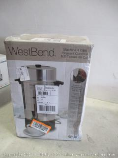 West Bend Coffee Urn new damaged box