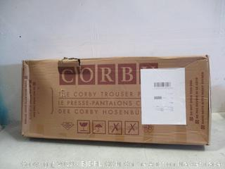 Corby Trouser Press new, damaged box