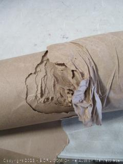 Paper Roll damaged see pictures
