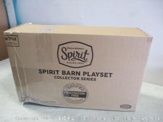 Spirit Barn Playset Collector Series
