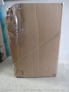 Geometric Luggage New, damaged box