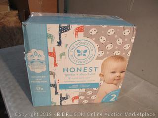 Honest Diapers - Sz 2
