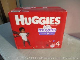 Huggies Diapers - Sz 4