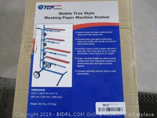 Mobile Tree Style Masking Paper Machine Station