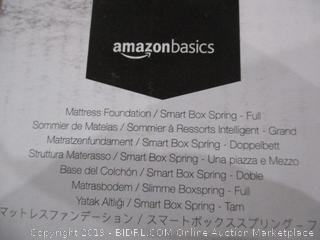 Mattress Foundation/Smart Box Spring full