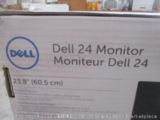 Dell 24 Monitor Powers on See Pictures