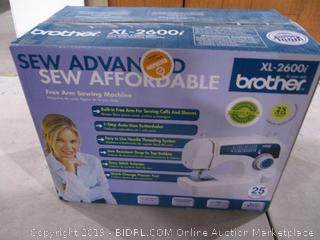 Brother Sewing Machine powers on
