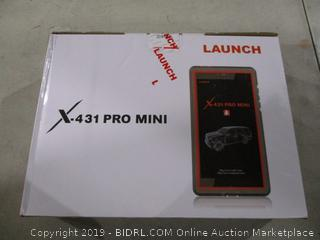 Launch X-431 Pro Mini Powers on See Pictures