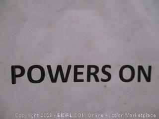 Frigidaire Powers On