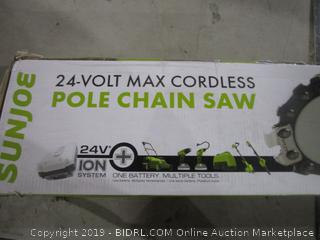 Cordless Pole Chain Saw