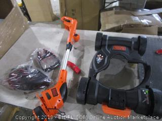 Black + Decker Cordless 3 in 1 12 in Compact Mower