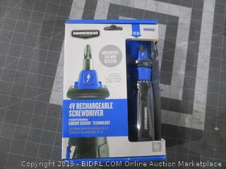Hammerhead V Rechargeable Screwdriver
