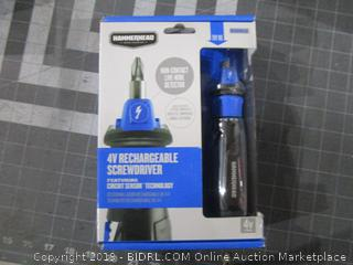 Hammerhead 4V Rechargeable Screwdriver