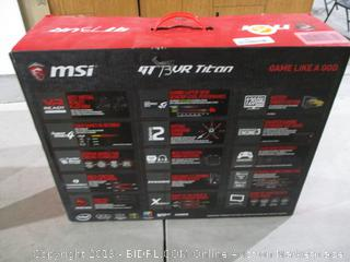 MSI Powers On In Box See Pictures