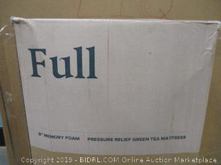 "Zinus Full 8"" Memory foam Mattress"