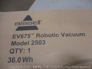 Bissell Robotic Vacuum Cleaner Power On