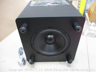 Powered Studio Subwoofer Powers On
